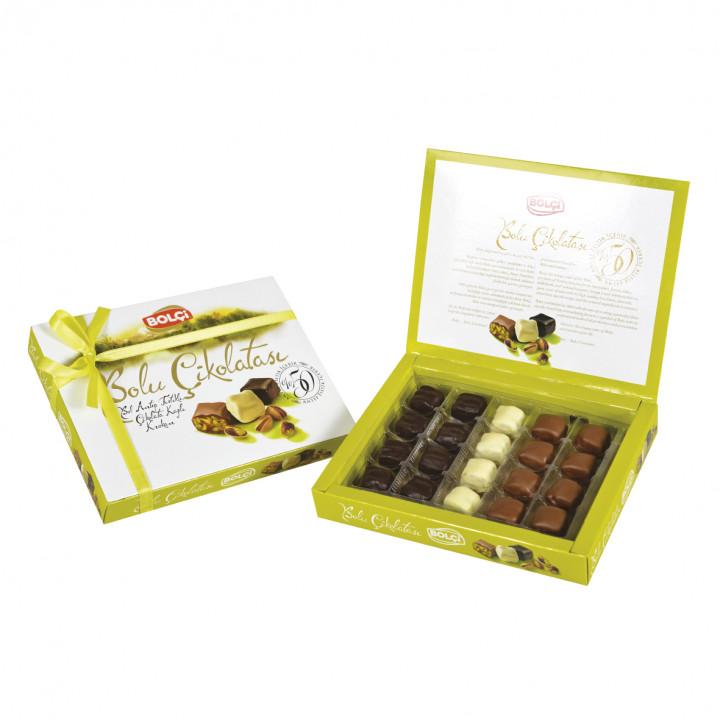 Bol Antep Fıstıklı Bolu Çikolatası 160 g
