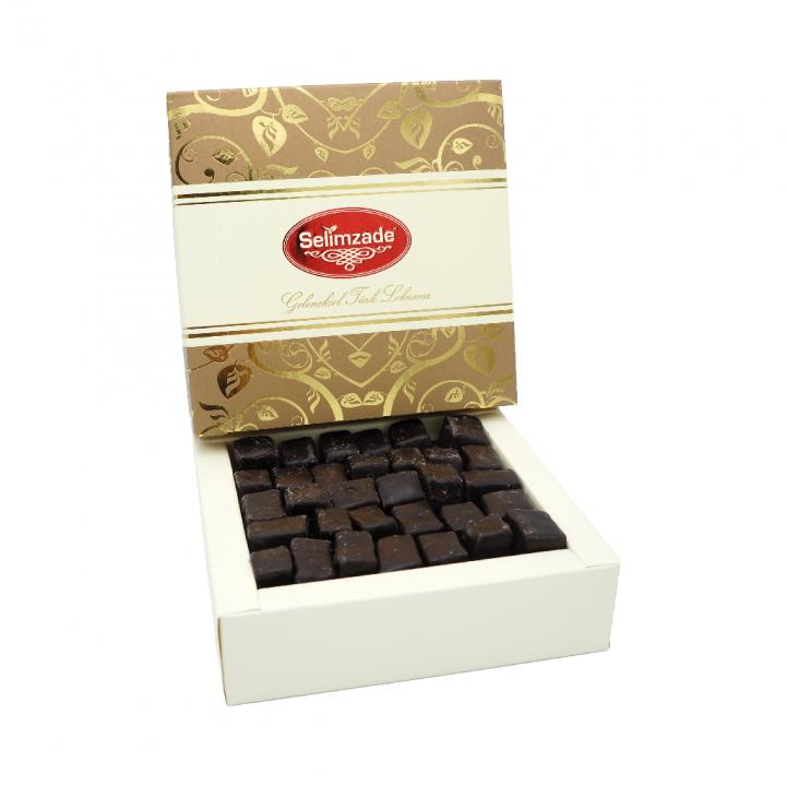 Çikolata Kaplı Kahvelik Lokum