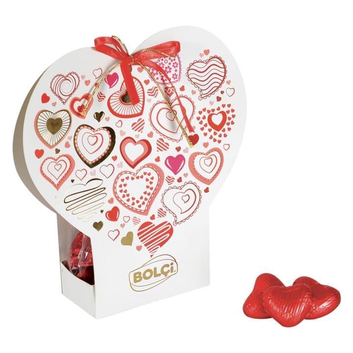 Figürlü Çikolata Kalp 100 g