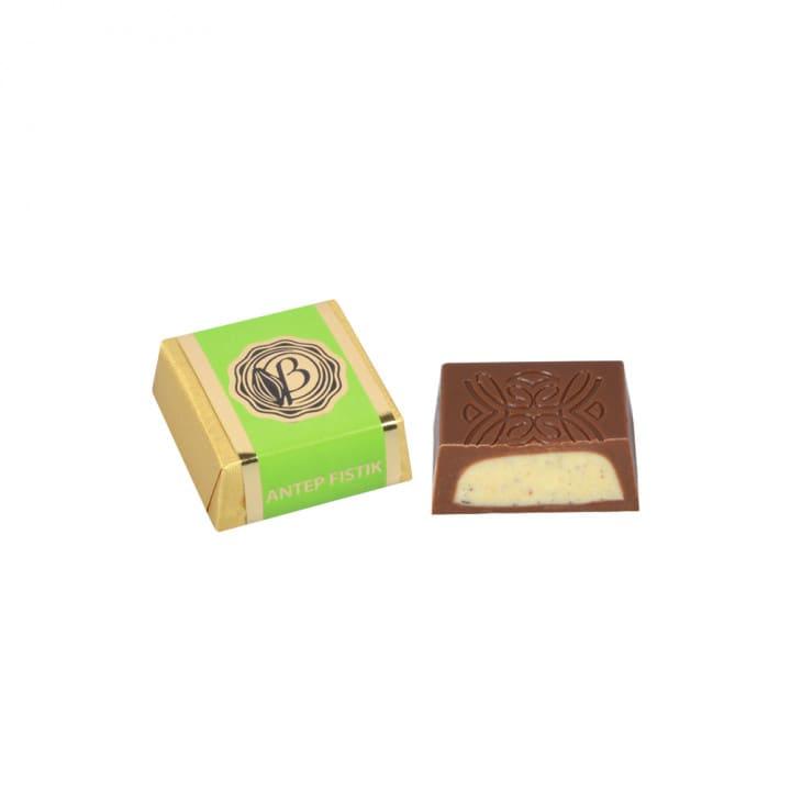 FıstıkKremaDolguluSütlüKare Çikolata