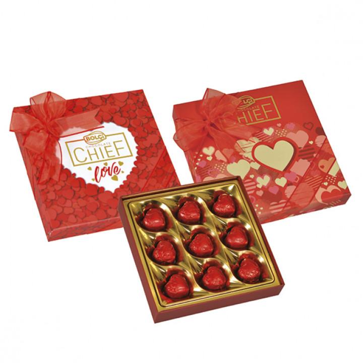 Kalp Çikolata Kutu 108 g