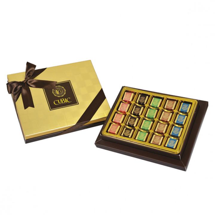 Küp Çikolata Kutu 165 g