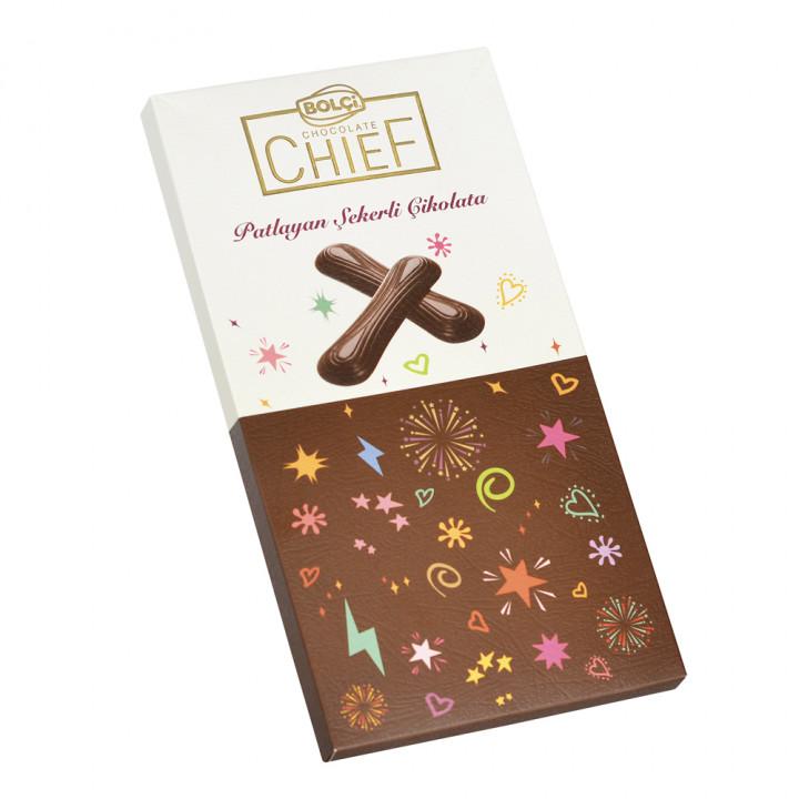 Patlayan Şekerli Çikolata 72 g