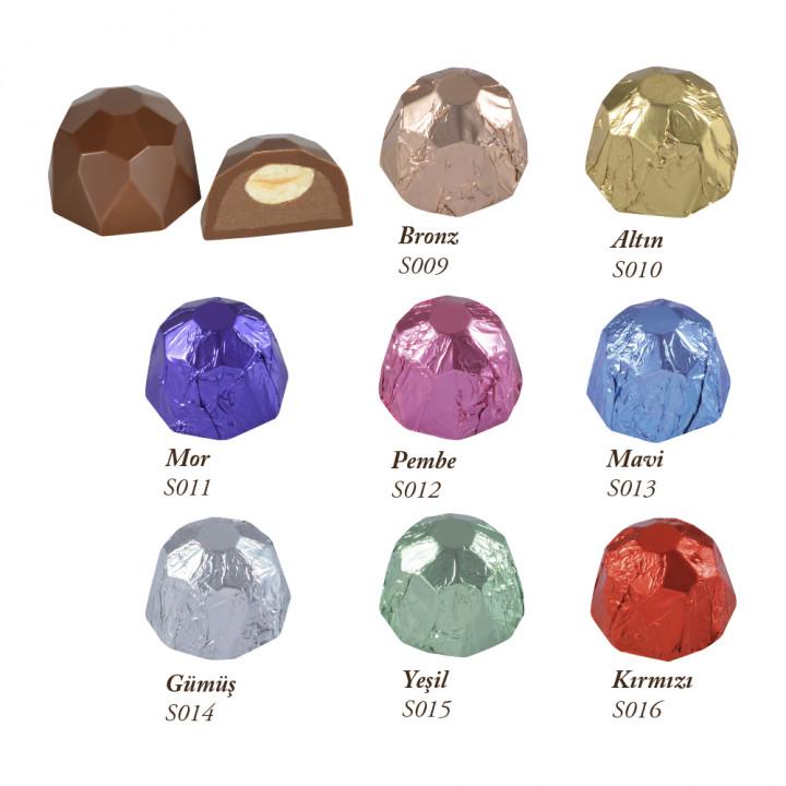 Sütlü Elmas Sargılı Gümüş 12 g