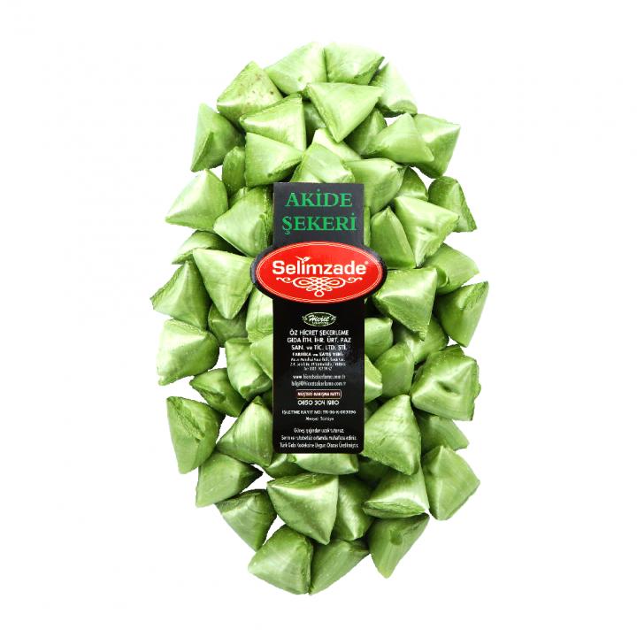 Yeşil Nane Aromalı Akide Şekeri