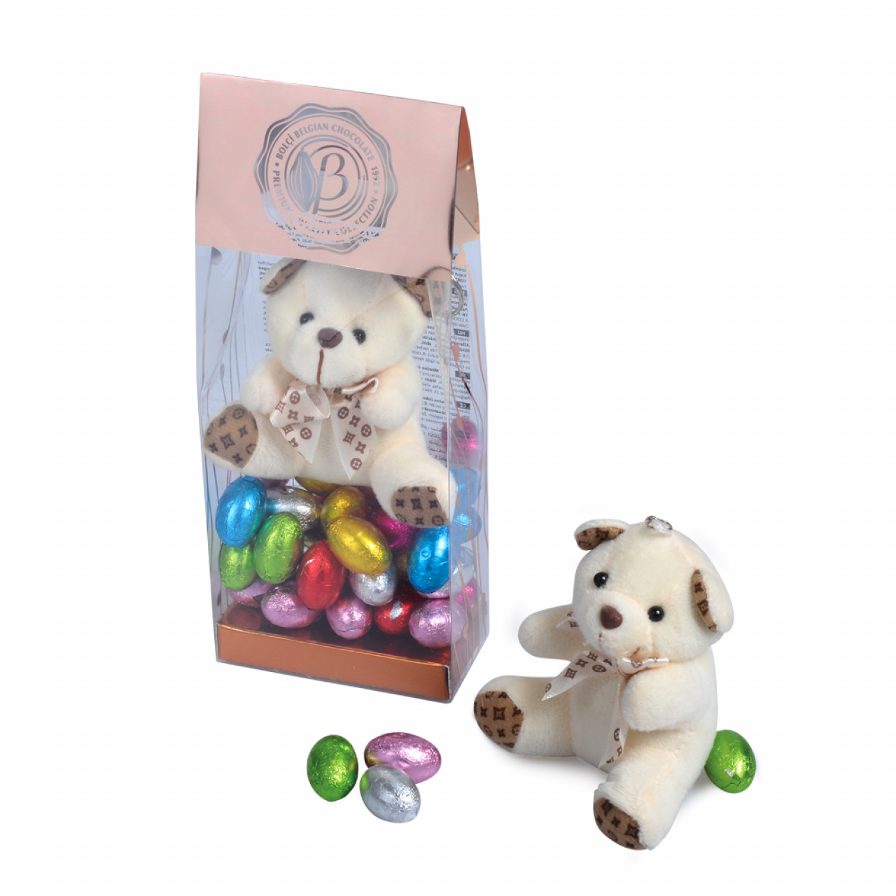 Pookie Bear Oyuncaklı Sütlü Çikolata 130 g
