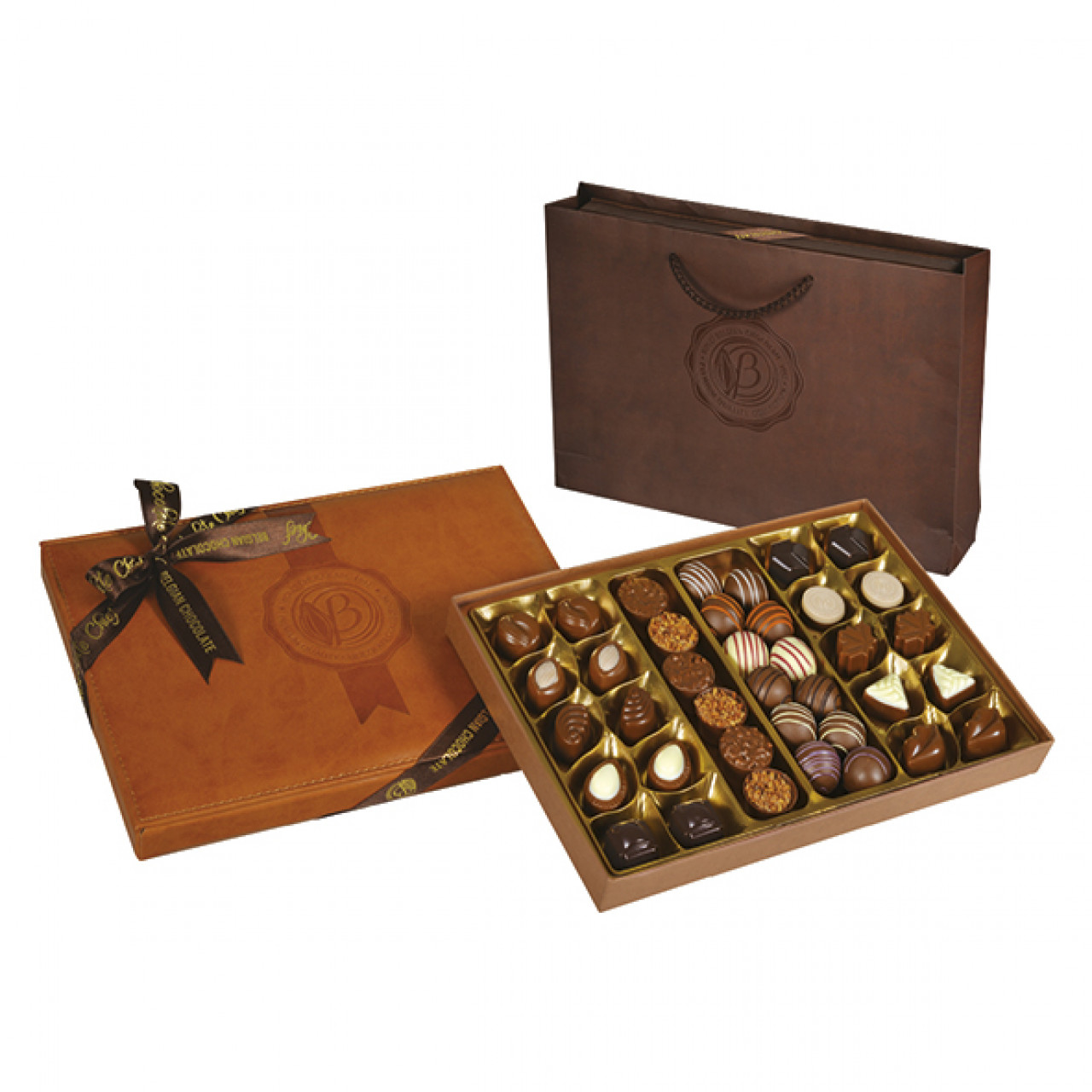 Special Çikolata Deri Taba Kutu 500 g
