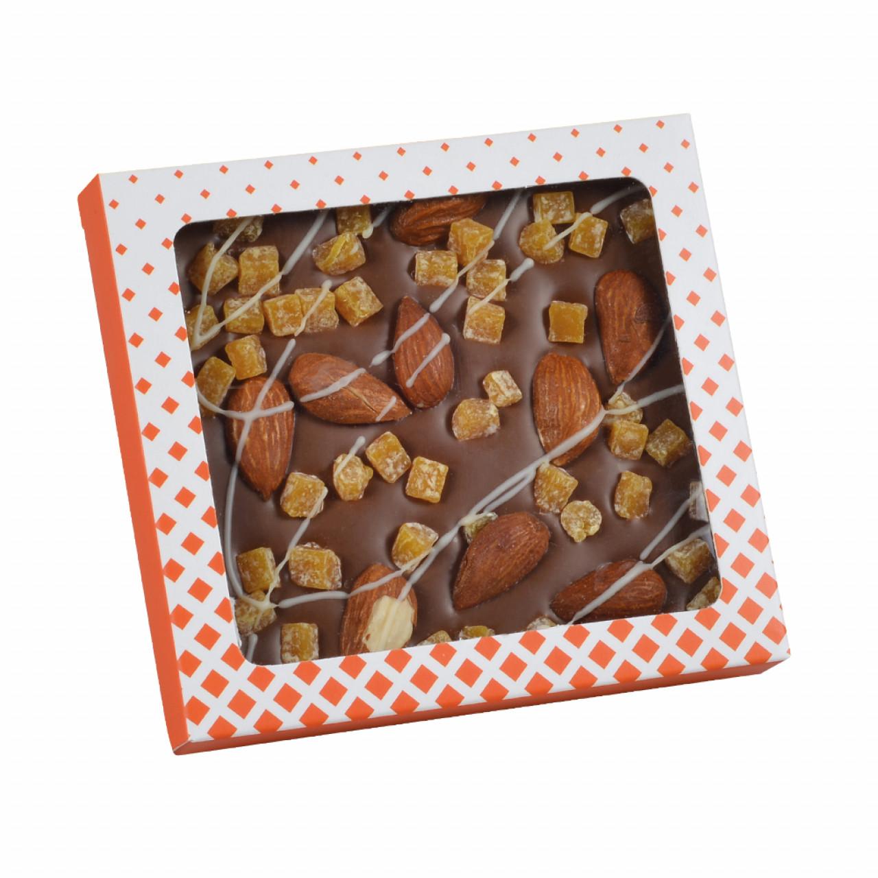 Sütlü Badem Portakallı Çikolata 75 g