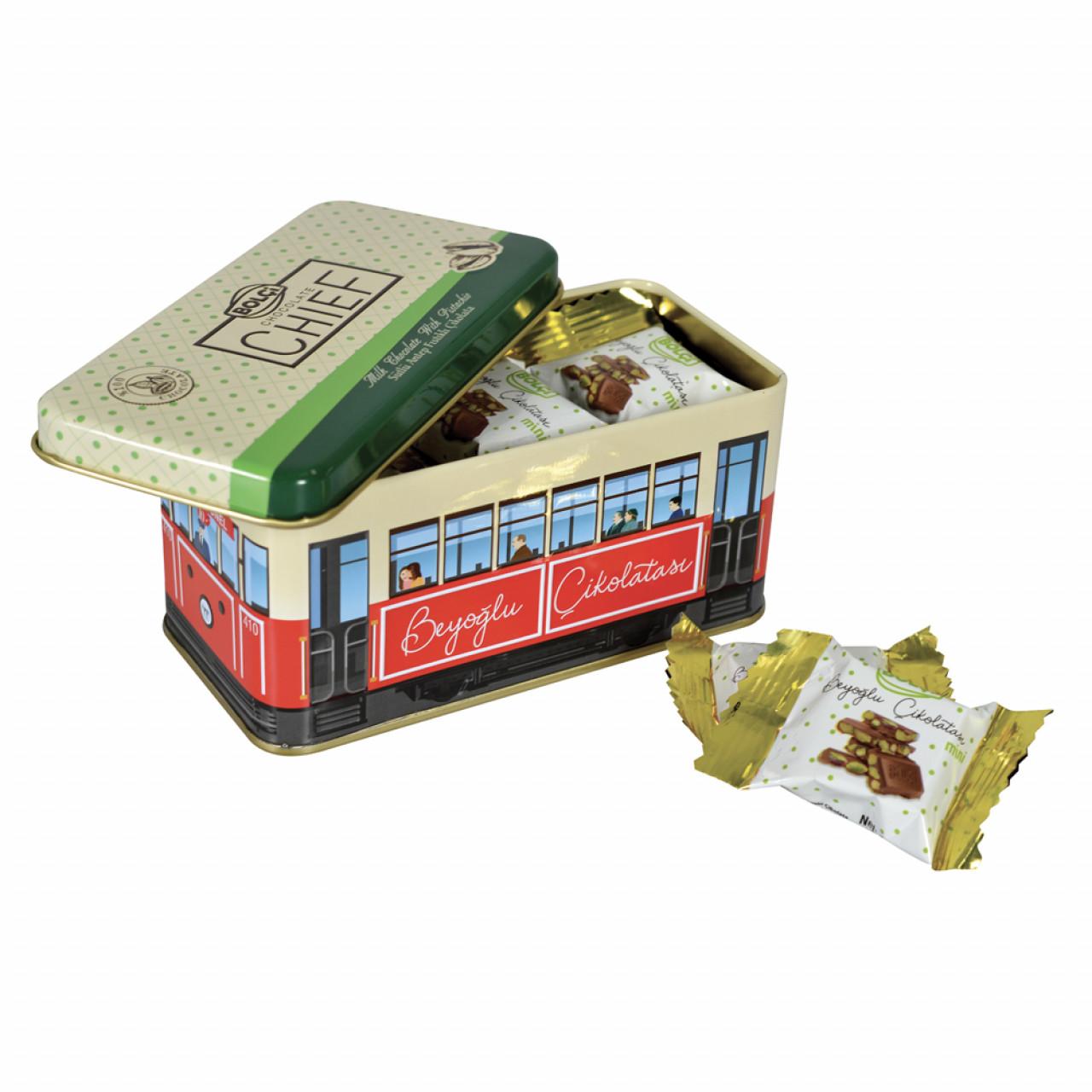 Tramvay Teneke Kutu Antep Fıstıklı 225 g