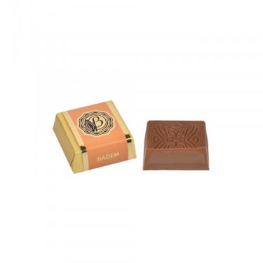 BademGiandujaDolguluSütlüKare Çikolata