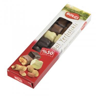 Bol Yer Fıstıklı Bolu Çikolatası 125 g
