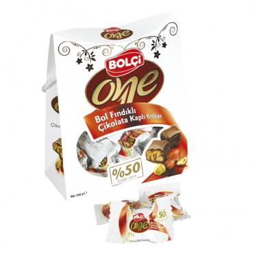 One Sütlü Çikolata Fındıklı Bolu Çikolatası 240 g